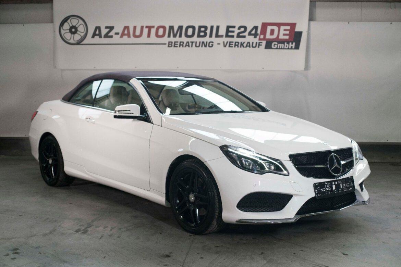 Mercedes-Benz E 400  //  CABRIO  //  VOLL  //  AUTOMATIK