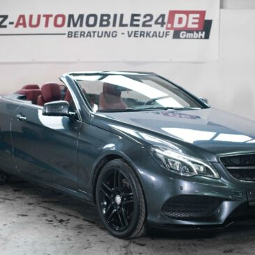 Mercedes-Benz E-Klasse Cabrio E 350 CGI BlueEfficiency Import