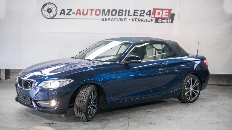 BMW 228i  //  Cabrio  //   Sport-Aut.  // M-PAKET