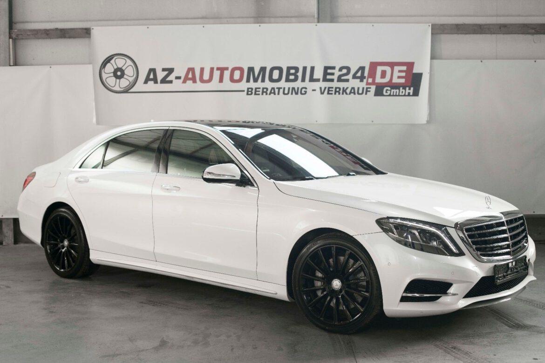 Mercedes-Benz S 500  //  LANG  //  WEISS  //  NP:160.000€