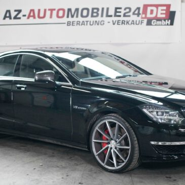 Mercedes-Benz CLS 63 AMG  //   S  //   4-MATIC IMPORT